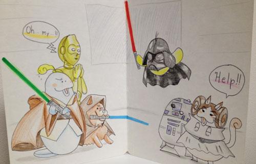 Doozy Moo Star Wars Parody