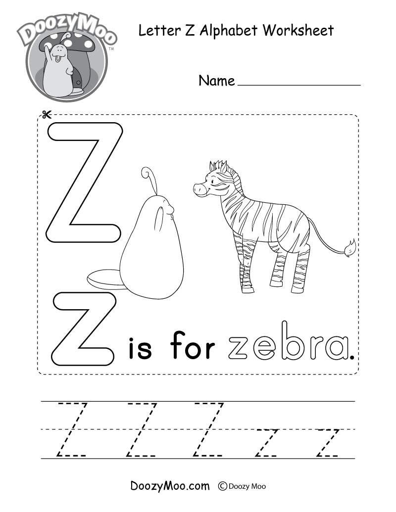 worksheet Letter X Worksheet letter x alphabet activity worksheet doozy moo z the is for zebra