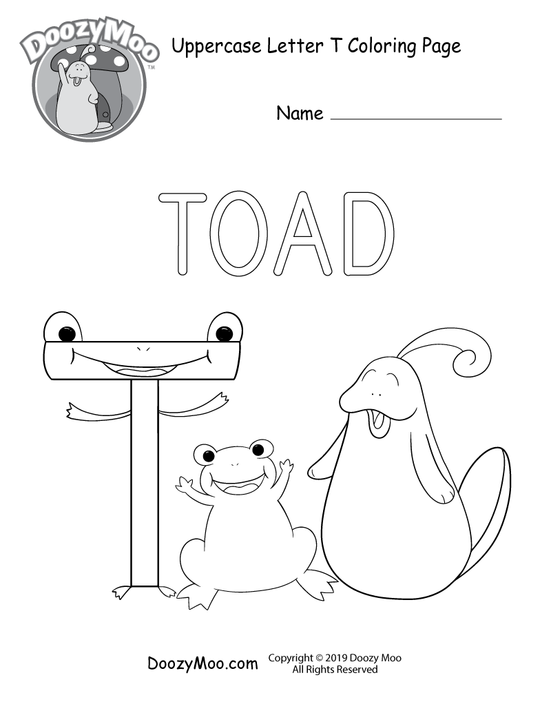 Cute Alphabet Coloring Pages Free Printables Doozy Moo